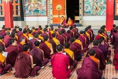 Monjes budistas fotografía de archivo