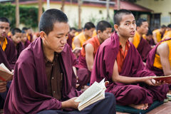 Monjes budistas imágenes de archivo libres de regalías