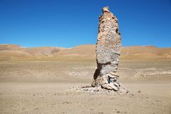 Monjes de Pakana, chile Fotografía de archivo libre de regalías