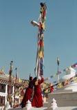 Monjes de Tíbet Imágenes de archivo libres de regalías