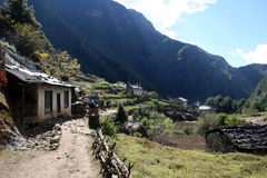 monjo Νεπάλ στοκ εικόνες με δικαίωμα ελεύθερης χρήσης