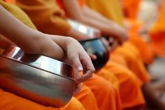 Monk's alms bowl Royalty Free Stock Photos