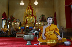 Monk royaltyfri bild