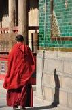 Monk royaltyfria foton