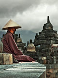 The Monk Royalty Free Stock Photo