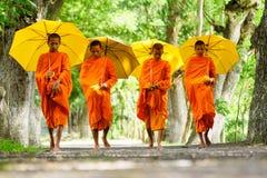 monk Arkivbild