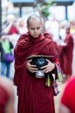 Monk in Amarapura, Myanmar Royalty Free Stock Photo