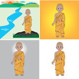Monk Royalty Free Stock Image