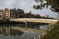 Monk Bridge. A beautiful park in Kaohsiung Royalty Free Stock Photo