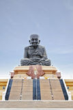 Monk buddha sculpture in hua hin, thailand. Monk be famous of thailand Royalty Free Stock Photo