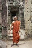 Monk in Cambodia Royalty Free Stock Photo