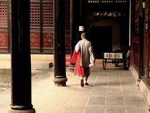 Chinese Monk Chengdu China Stock Photography