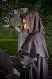 monk cmentarz Zdjęcie Royalty Free