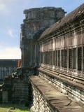 Monk em Angkor Wat Fotos de Stock Royalty Free