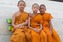 Monk Friends Stock Image