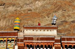 Monk in Hemis monastery Stock Photos