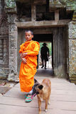 Monk In Cambodia Stock Images