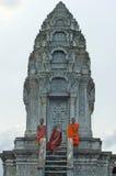 Monk in Kompong Chhnang. Cambodia Royalty Free Stock Photography
