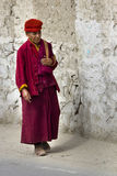Monk in ladakh Royalty Free Stock Photography