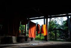 Monk Laundry, Angkor Wat Stock Photography