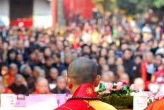 The monk Stock Photo