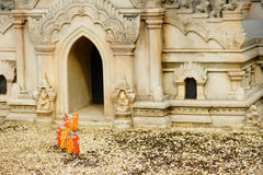 Monk model Royalty Free Stock Photography