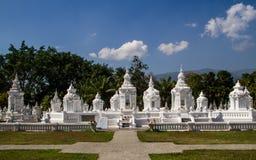 Monk mortuary urn Stock Image