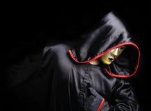 Monk mystical mask royalty free stock photos