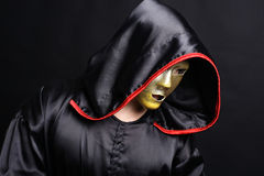 Monk mystical mask Stock Photography