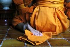 e52ce64bec9e Feet of monk stock photo. Image of shoes