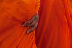 Monk robe close Royalty Free Stock Images