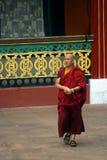 Monk, Rumtek, Sikkim, India Royalty Free Stock Photos