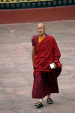 Monk, Rumtek, Sikkim, India Stock Images