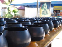 Monks alms bowl. In the order Stock Photography