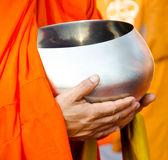 Monk s alms bowl Royalty Free Stock Photography