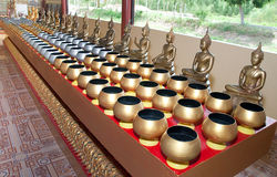 The Monk's alms bowl Royalty Free Stock Image