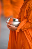 Monk`s alms bowl Royalty Free Stock Photo