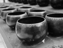 Monk's alms bowl Stock Image