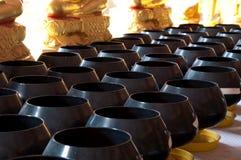 Monk's arms-bowl, thailand Stock Photos
