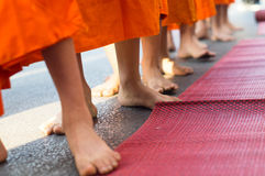 Monk's feet Stock Image