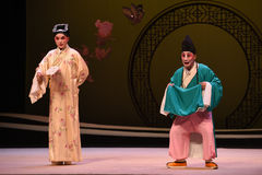 "Monk and scholar-Kunqu Opera ""the West Chamber"" Royalty Free Stock Images"