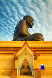 A monk sculpture huahin in thailand Stock Photography