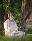 Monk statue Royalty Free Stock Image