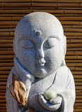 Monk statue for decorations Royalty Free Stock Photography