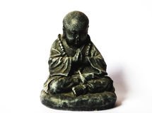 Monk statue Stock Photography
