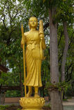 Monk statue for Shin Thiwali or Sivali Stock Photography