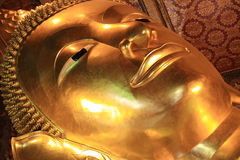 Monk Statues At Wat Pho Stock Photography