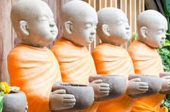 Monk Statues Royalty Free Stock Photo