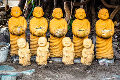 Monk Statues Royalty Free Stock Image