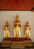 Monk Statues at Wat Pho Stock Image